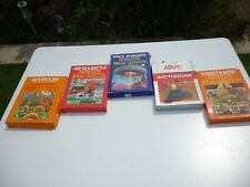 Atari 2600 games job lot of 5, boxes a bit tatty, cartridges not tested.