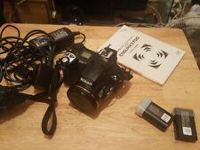 Nikon Coolpix 5700,5MP Camera,lens hood,charger 2x batteries,handbook and bag.