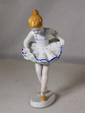 Porzellan Figur Tänzerin - Ballerina von Hollohaza