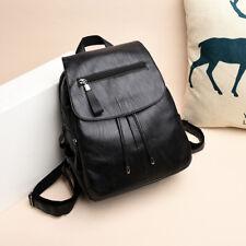 Bolso escuela de bolso mochila de bolso mochila de bolso PU mujer hombro