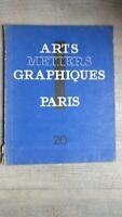 Arts et metiers graphiques No 20 Jean Cocteau, Mariette Lydis,Pascin,