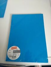50X SHEETS INTENSIVE BLUE 120 GSM 210X297 MM NEW