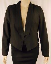 NEW City Chic Black Long Sleeve Jacket Coat Plus Size XS 14 BNWOT CC1014