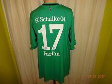 "FC Schalke 04 Adidas Ausweich Trikot 2013/14 ""GAZPROM"" + Nr.17 Farfan Gr.XXXL"