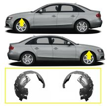 AUDI A4/S4 B8 2007-2012 FRONT WING ARCH MUD COVER SPLASH GUARDS PAIR LEFT RIGHT