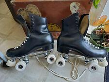 Riedell Sure~Grip Century Precision Dance Roller Skate Sz 9.5 - Ec