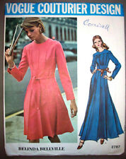 Vogue Couturier Bellville evening day  dress uncut pattern 2787 size 12