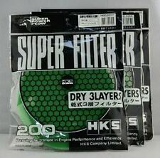 200MM 3 LAYER GREEN AIR FILTER REPLACEMENT COMPATIBLE WITH HKS MUSHROOM FILTER