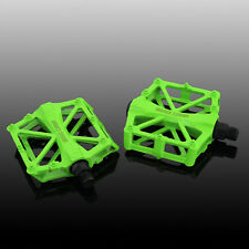 BICYCLE MOUNTAIN MTB BMX BIKE CYCLING BEARING ALLOY FLAT-PLATFROM SEALED PEDALS