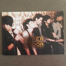 "SUPER JUNIOR ""BONAMANA"" 4th Studio Album TYPE A (No Photocard)"