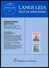 NORWEGEN NORWAY SONDERBLATT 1983 Nr. 2 MOTIVBLAD SCHIFFE SHIPS BOATS z2414