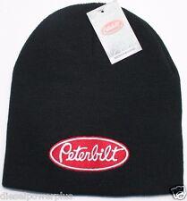 Peterbilt Beanie Stocking cap hat trucker semi toboggan ski cat snow winter gear