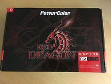 Radeon Rx 570 Red Dragon PowerColor -new In Sealed Box
