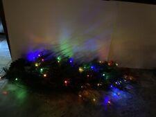 Bethlehem Lights 3' Prelit Holiday Swag Pinecone Berry Teardrop Multicolor Light