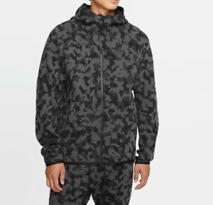 NIKE SPORTSWEAR TECH FLEECE FULL ZIP HOODIE SIZE MEDIUM *CJ5975-010*