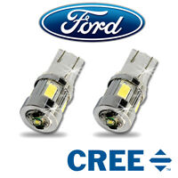 Fits FORD COMMERCIAL LED Side Light SUPER BRIGHT Bulbs 3w Cree Transit - WHITE