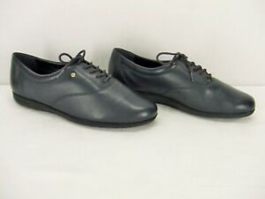 """Easy Spirit """"Motion"""" Navy Blue Leather Lace Up Oxford Comfort Shoe Sz. 9.5EE New"""