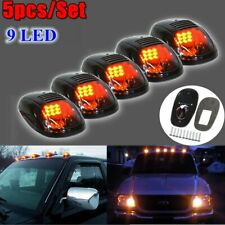 5x Smoke Black LED Cab Roof Running Marker Light Lamp Truck SUV Off-Road RV 4X4