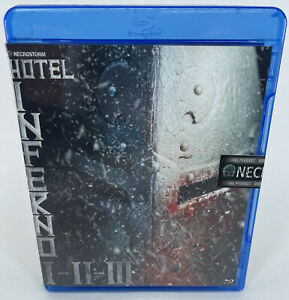 Necrostorm - Hotel Inferno I - II - III - Sealed Blu-ray - A3