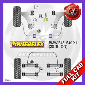 Fits BMW F48, F49 X1 (2016 - ON) Non Adjust Powerflex Complete Bush Kit