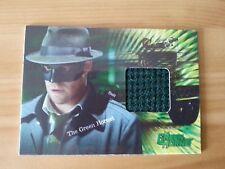 GREEN HORNET SETH ROGEN PIECEWORKS COSTUME WORN TRADING CARD LTD TO 500 W/WIDE