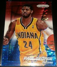 Paul George 2014-15 Panini Prizm RED WHITE & BLUE MOSAIC PRIZM Parallel Card