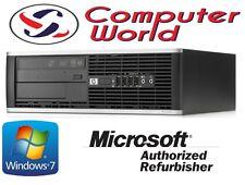 HP 8000 Elite Core 2 Duo 3.0GHz Desktop Computer PC 4GB 250GB Windows 7 Pro WiFi