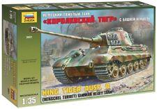 Zvezda 1/35 REY Tiger ausf. Caja (Henschel Torreón) alemán tanque pesado #3601
