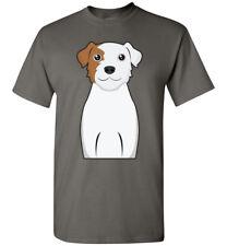 Parson Russell Terrier Dog Cartoon T-Shirt Tee - Men Women Youth Tank Long