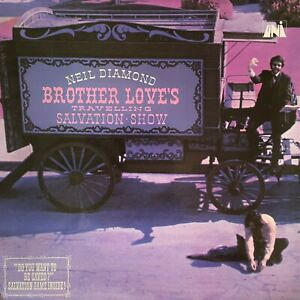 Neil Diamond - Brother Love's Travelling Salvation Show (LP) (G-VG/G++)