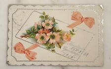 """Antique Heartiest NEW-YEAR Greetings """"1912"""" Postcard"""