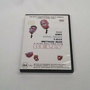 Belly NAS DMX T-Boz Method Man Region 4 DVD Rare