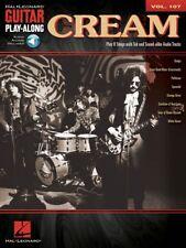Cream Sheet Music Guitar Play-Along Book and Audio NEW 000701069