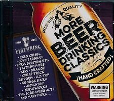 More Beer Driniking Classics 2-disc CD NEW Cold Chisel Farnham KISS Dragon