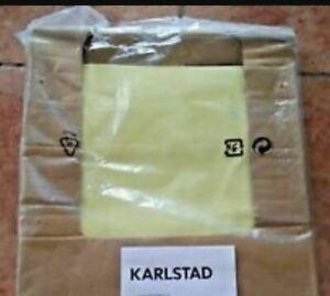 "IKEA Karlstad Corner""2+ 3 +2""Sofa NEW Cover Sivik Light Butter Yellow Sealed NIP"