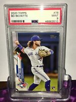 2020 MINT Topps Series One Bo Bichette  RC Rookie #78 PSA 9 - Throwing