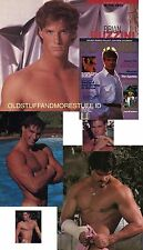PLAYGIRL 1-86 LEGEND BRIAN BUZZINI UP! GASTINEAU! REDFORD STREEP JANUARY 1986