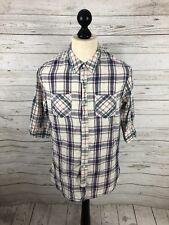 ALLSAINTS Shirt - Size Medium - Slim Fit - Linen - Great Condition - Men's