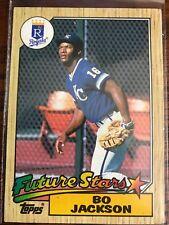 1987 Topps Bo Jackson #170 Baseball Rookie Card