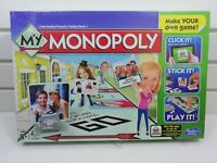 My Monopoly Family Board Game - Make Your Own Game Edition - NEW & SEALED
