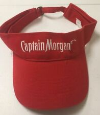 Captain Morgan Visor Cap Retro Hat Collectible c5