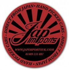 Jap Imports Sticker - 75mm - JDM