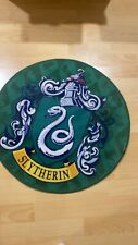Sytherin House small round mat/rug