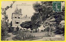 cpa 77 - La FERTÉ sous JOUARRE (Seine et Marne) MOURETTE Villa Pavillon Jardin