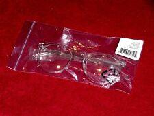 WARBY PARKER HASKELL 500 EYEGLASSES CRYSTAL CLEAR Lens GLASSES Horn Frame NOS