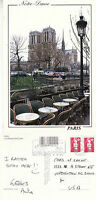 1995 NOTRE DAME PARIS FRANCE COLOUR POSTCARD