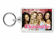 Personalised Little Mix Keyring / Book Bag Tag - Add any name! *Great Gift*