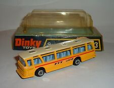 Dinky Toys No. 293, Swiss PTT Bus, - Superb
