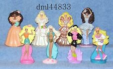 1992 McDonalds Barbie Complete Set - Lot of 8, Boys & Girls, 3+