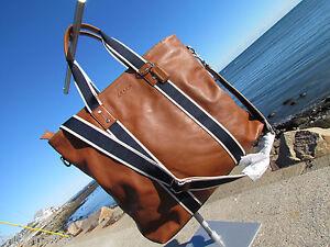 NWT COACH Heritage Web Leather Utility Tote saddle messenger $448 classic F70560